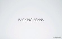 Backing beans